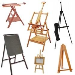Caballetes para pintura definicion modelos y aplicaciones - Caballetes para tableros ...
